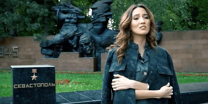 Гульназ Жоланова читает стихотворение Юлии Олефир «День Победы»