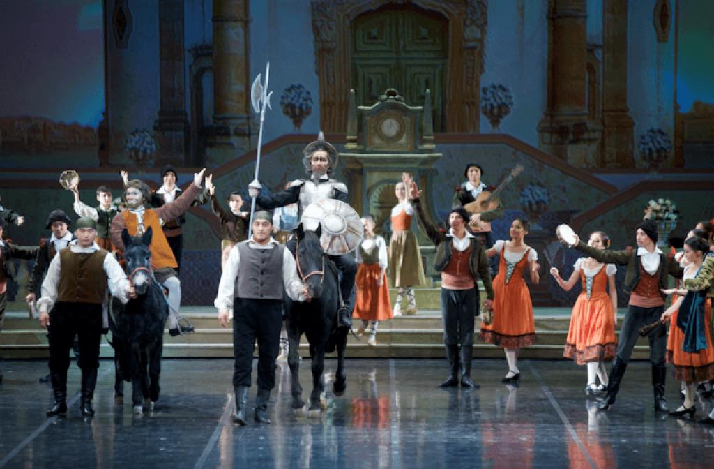 «Дон Кихот» на сцене Astana Opera