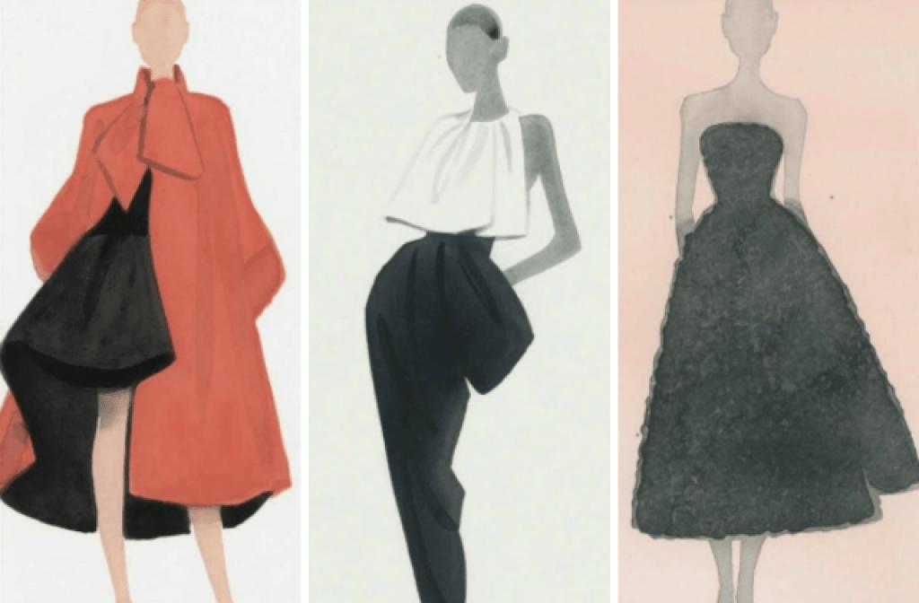 Dior выпустит книгу с иллюстрациями Матса Густафсона