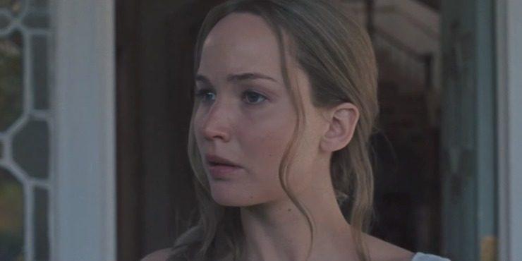 Дженнифер Лоуренс и Хавьер Бардем в новом триллере «Мама!»