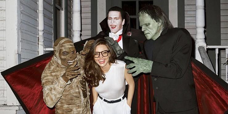 Подборка вариантов макияжа на Хэллоуин, которые возможно создать в домашних условиях