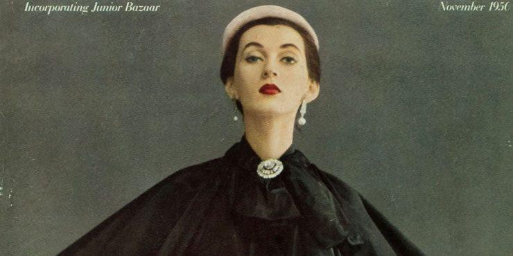 Это BAZAAR: обложка ноябрьского номера 1950 года