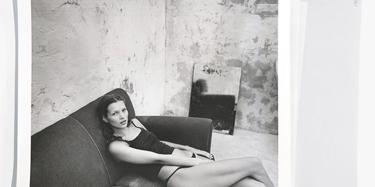 Фото юной Кейт Мосс, более чем двадцатилетней давности