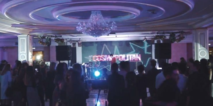 Видеоотчет с вечеринки Cosmo Beauty Awards