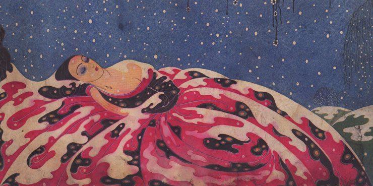 Это BAZAAR: обложка декабрьского номера 1923 года