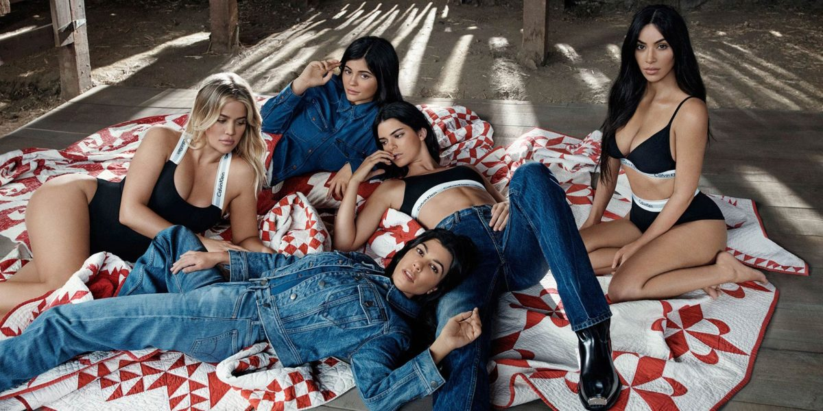 Семейство Кардашьян-Дженнер в рекламной кампании Calvin Klein