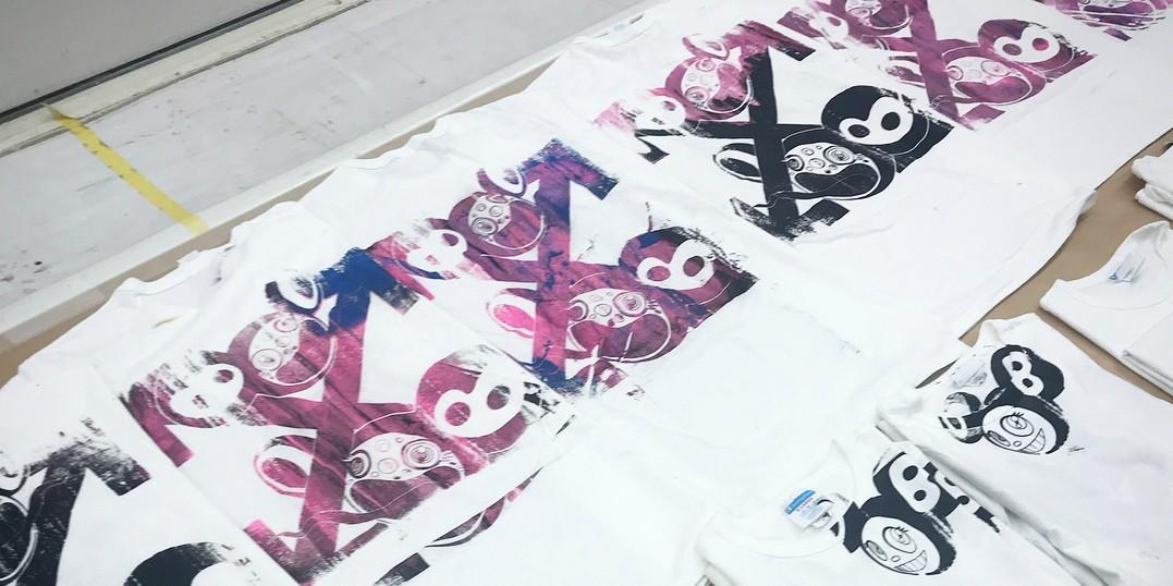 Верджил Эбло выпустил коллекцию футболок с рисунками Такаши Мураками
