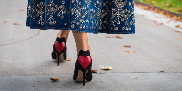 31 пара обуви для праздничного настроения в День святого Валентина