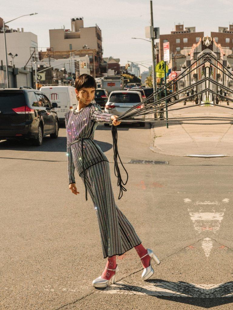 Gucci, Dior, Lady Grey – съемка BAZAAR Kazakhstan