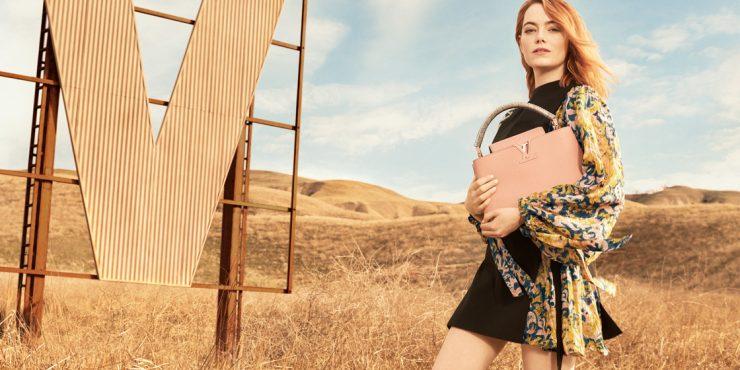 Эмма Стоун в рекламной кампании Дома Louis Vuitton