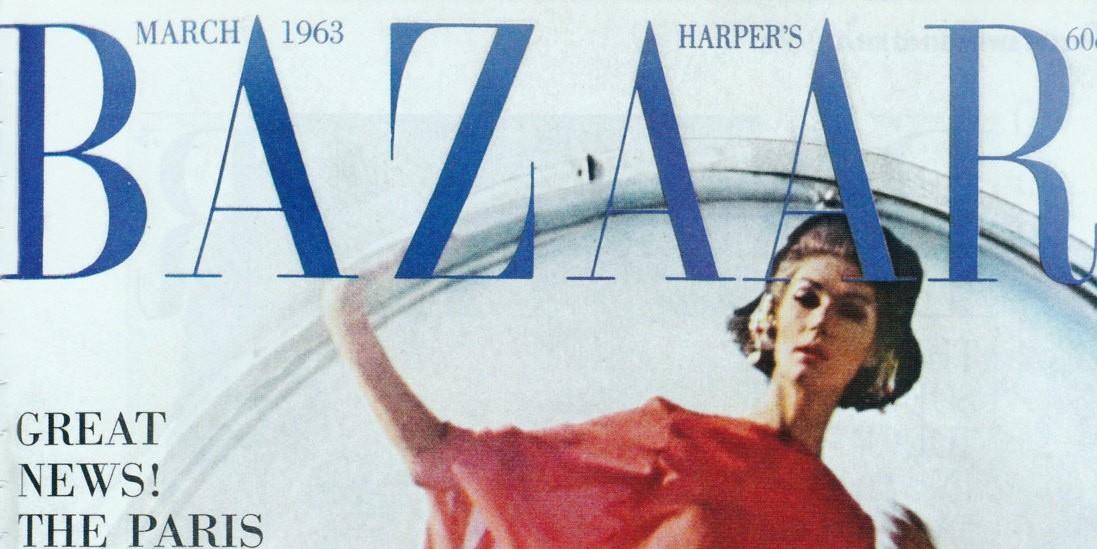 Это BAZAAR: обложка мартовского номера 1963 года