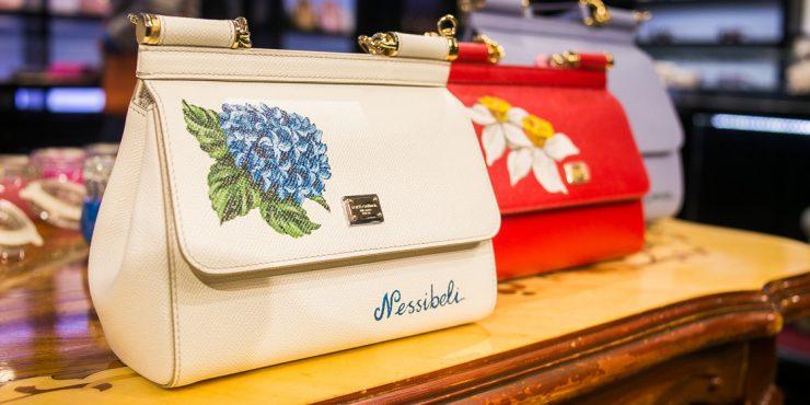 Художественный жест: как нанести на сумку Dolce & Gabbana уникальный узор?
