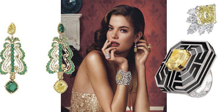 Лучшие друзья девушек или подборка украшений с самыми яркими желтыми бриллиантами