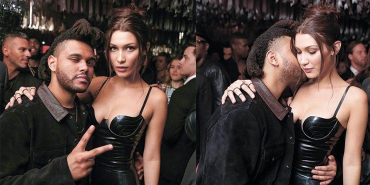Белла Хадид и The Weeknd были уличены в поцелуе