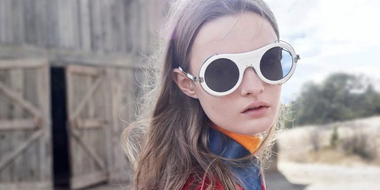 Солнечный круг: Раф Симонс выпустил первую коллекцию очков для Calvin Klein