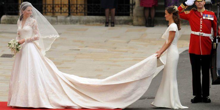 H&M воссоздаст свадебное платье Кейт Миддлтон
