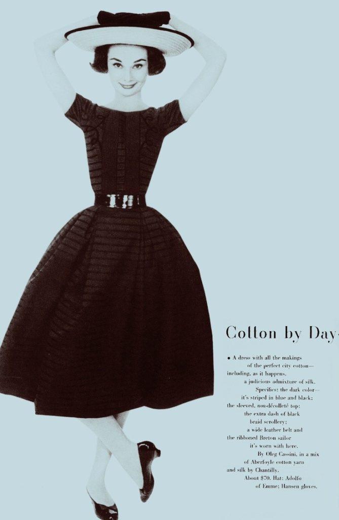 Одри Хепберн на обложке Harper's BAZAAR