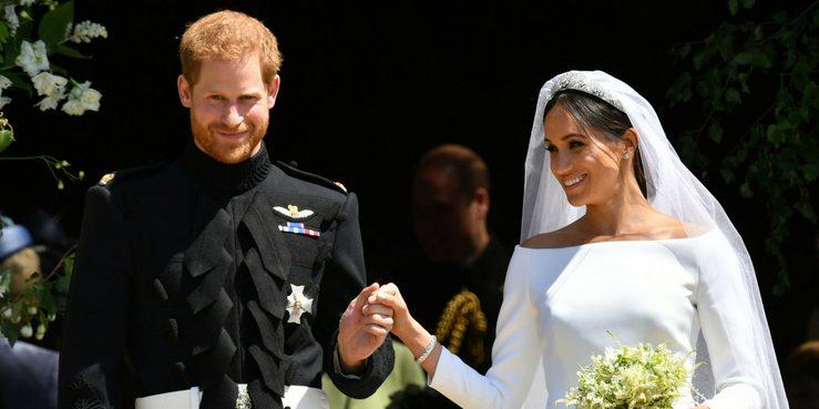 Ах, эта свадьба! Принц Гарри и Меган Маркл стали мужем и женой