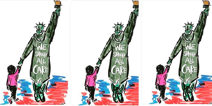 Куртка Мелании Трамп – это только вершина айсберга