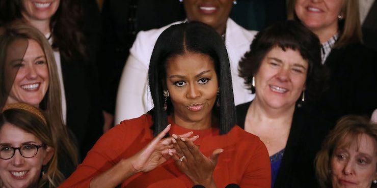 Мишель Обама зажгла на концерте Бейонсе в Париже