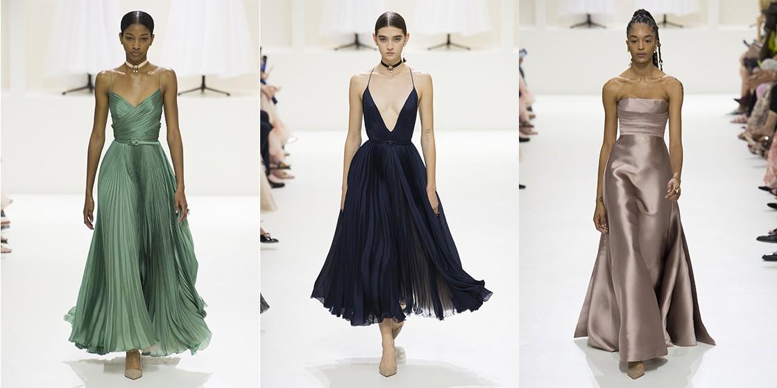 Как прошел кутюрный показ Christian Dior?