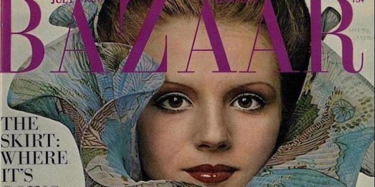 Это BAZAAR: обложка июльского номера 1970 года