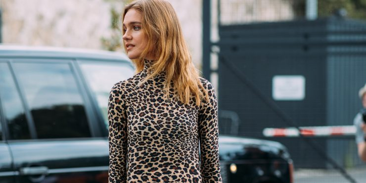 Зеленчатые леопарды: 20 вещей с цветным животным принтом