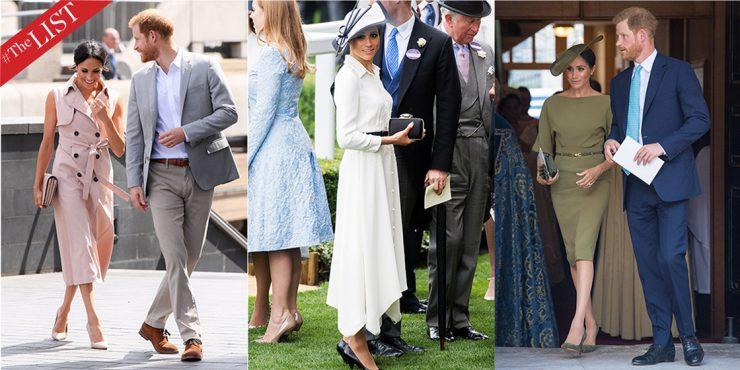 30 нарядов в стиле Меган Маркл: как изменился гардероб герцогини после замужества