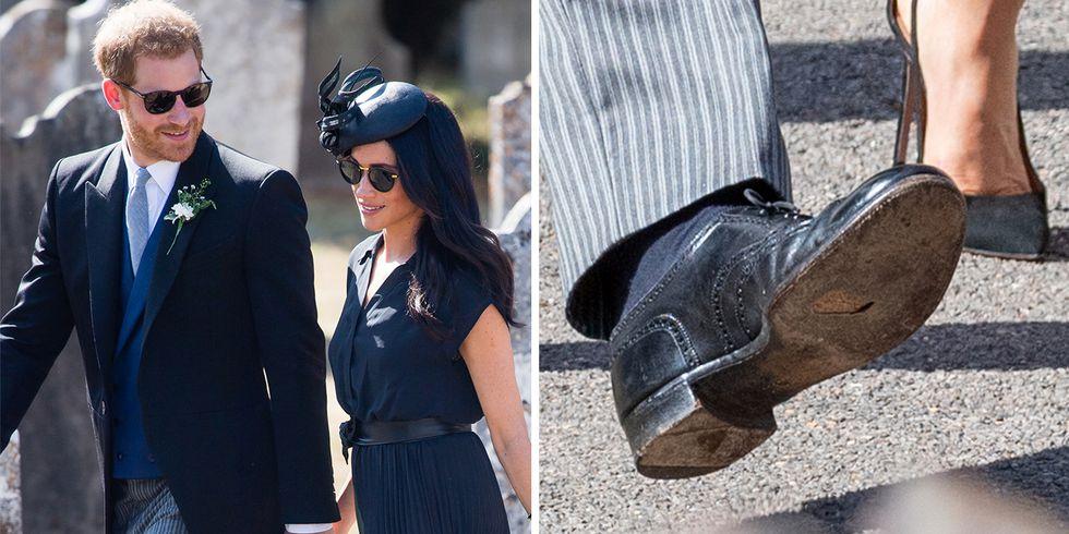 принц Гарри обувь