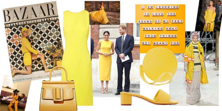 Как носить желтый и почему это хорошая идея?