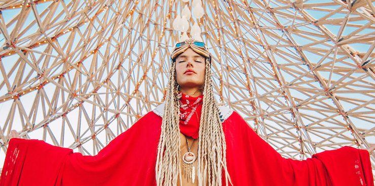 Звезды на фестивале Burning Man 2018