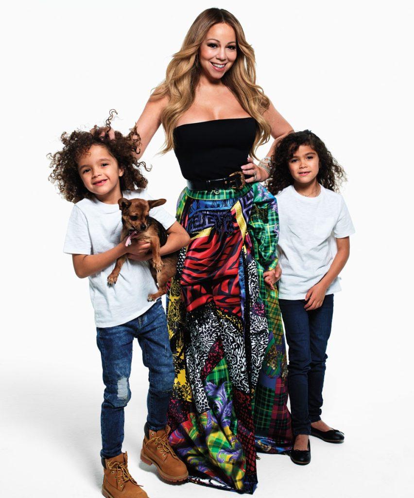 Мэрайя Кэри с детьми – иконы bazaar 2018