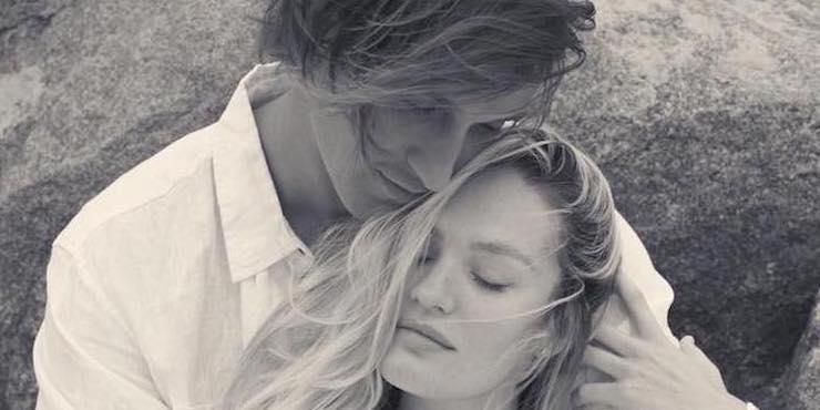 «Ангел» Victoria's Secret Кэндис Свейнпол рассталась с женихом Херманном Николи