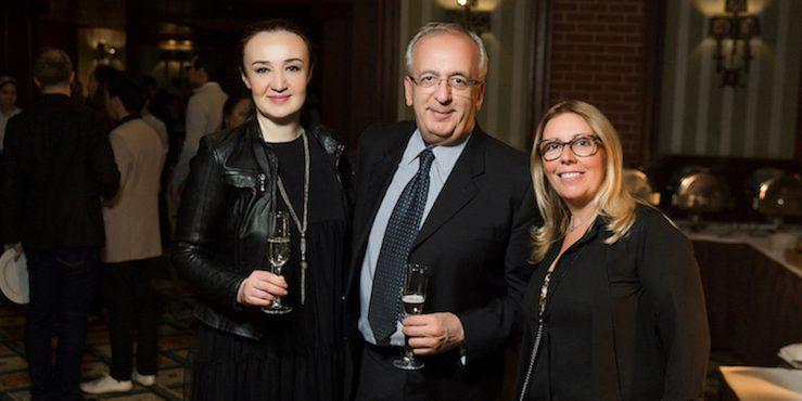 Как прошел прием в честь открытия выставки Shoes from Italy Almaty