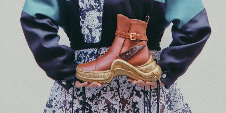 Выбор BAZAAR: новая интерпретация кроссовок Louis Vuitton Archlight
