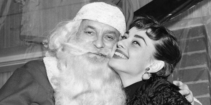 Винтажные рождественские фотографии