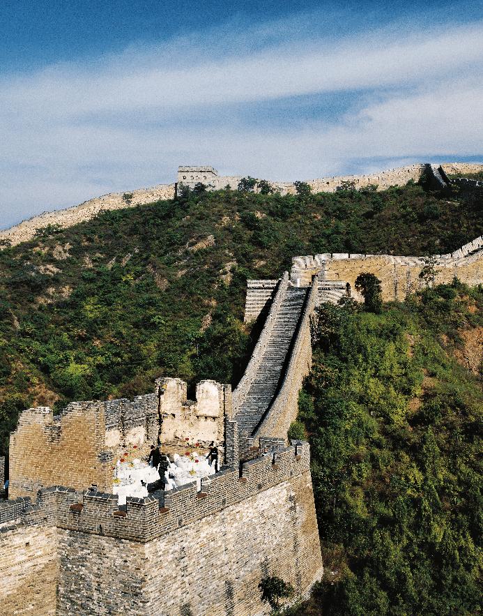 Дорогие подарки: ужин на Великой Китайской стене
