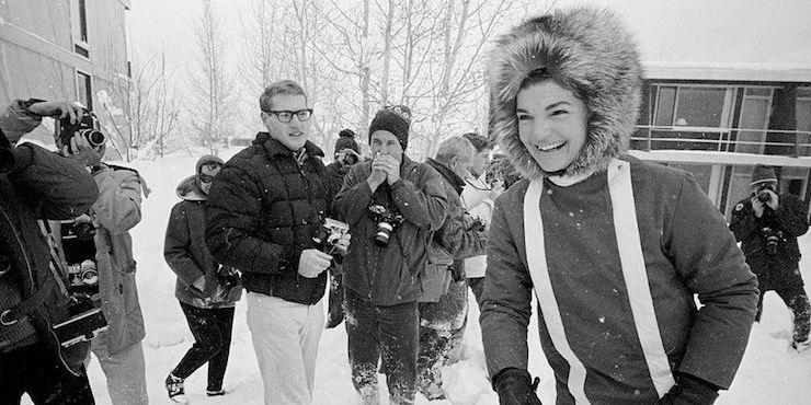 Зимние фотографии знаменитостей тогда и сейчас