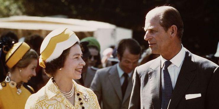 История любви королевы Елизаветы и принца Филиппа в фотографиях