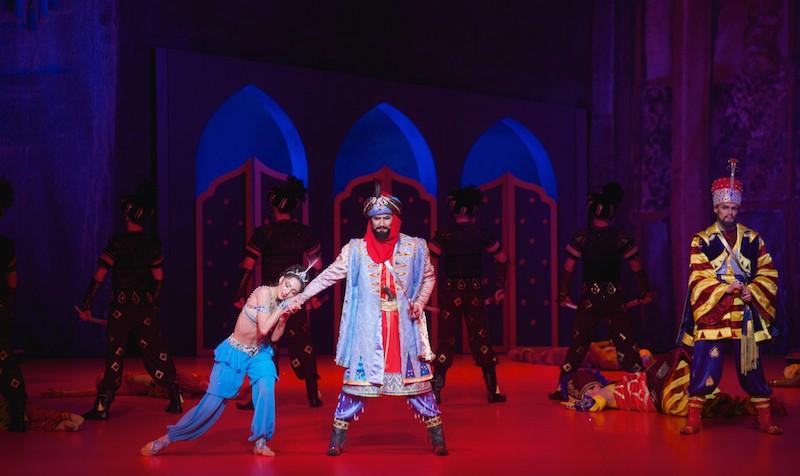 Одноактные балеты «Шопениана» и «Шехеразада» в постановке театра «Астана Опера»