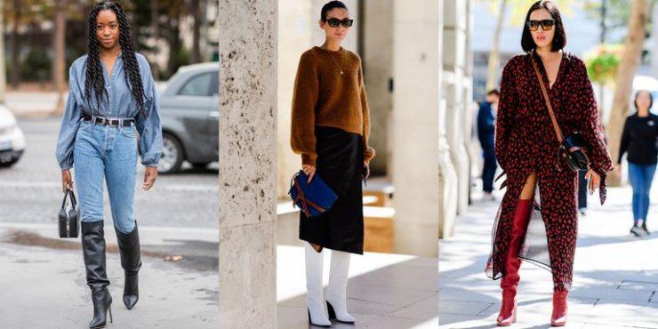 Как и с чем правильно носить зимние сапоги?