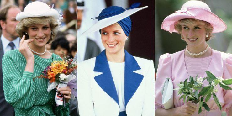 Лучшие шляпы принцессы Дианы