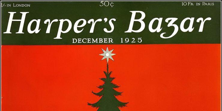 Лучшие рождественские обложки Harper's BAZAAR
