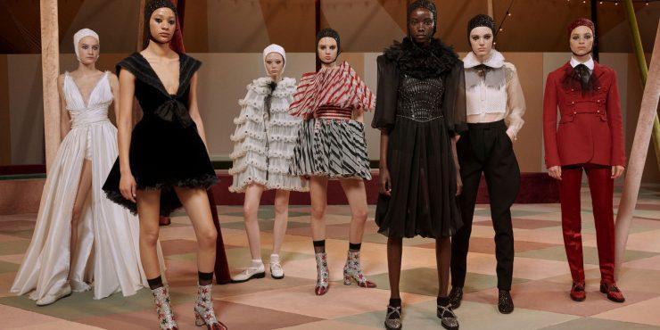 Шапито: как прошел показ кутюрной коллекции Christian Dior?