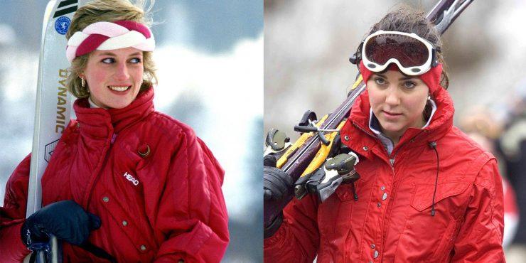 Как Кейт Миддлтон копирует стиль леди Ди?