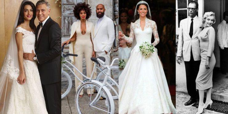 50 самых знаменитых свадебных платьев в истории