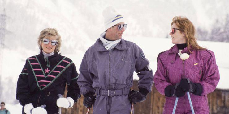 Как одеваются зимой монаршие особы?