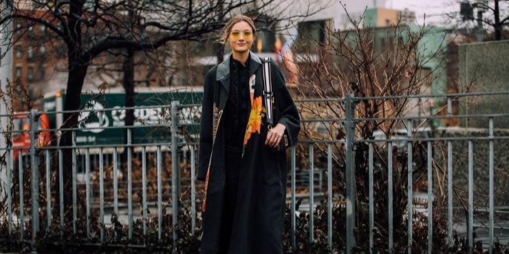 Что носят модели на Неделе моды в Нью-Йорке?