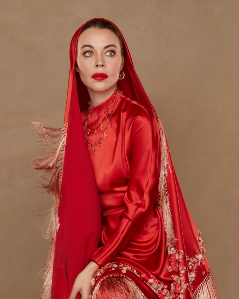 Ульяна Сергеенко на обложке Harper's BAZAAR Kazakhstan