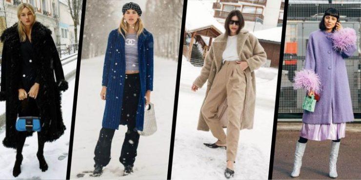 Зимняя одежда для самых стильных или что носить в снежные дни?